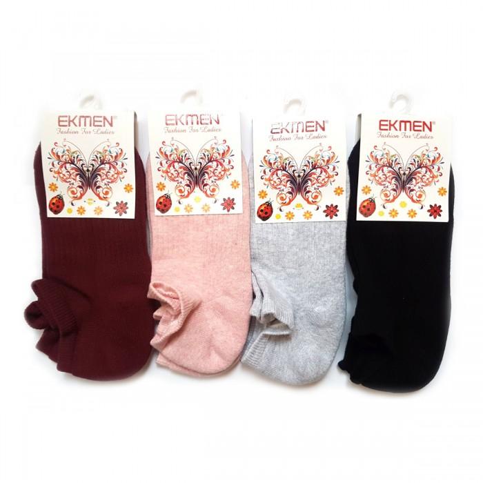 Ekmen женские спортивные носки махра