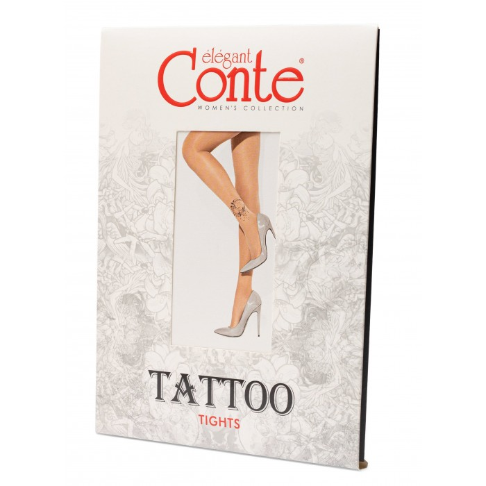 Conte Tattoo Moon Art