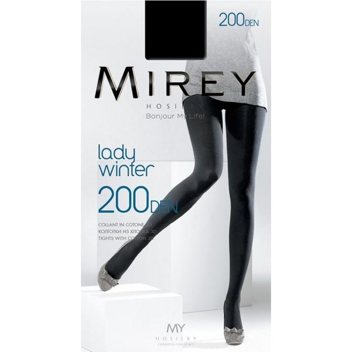 Колготки из 3D хлопком Mirey Lady Winter 200