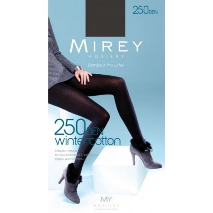Хлопковые колготки Mirey Wintercotton 250