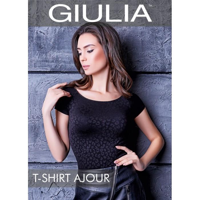 Giulia T-shirt Ajour model 2