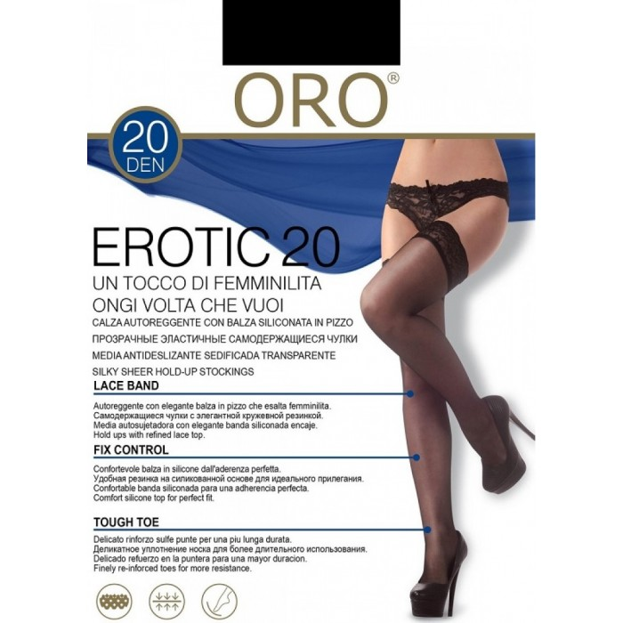 Oro Erotic 20 calze